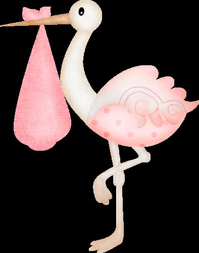 standing stork baby clipart girls pinterest girls