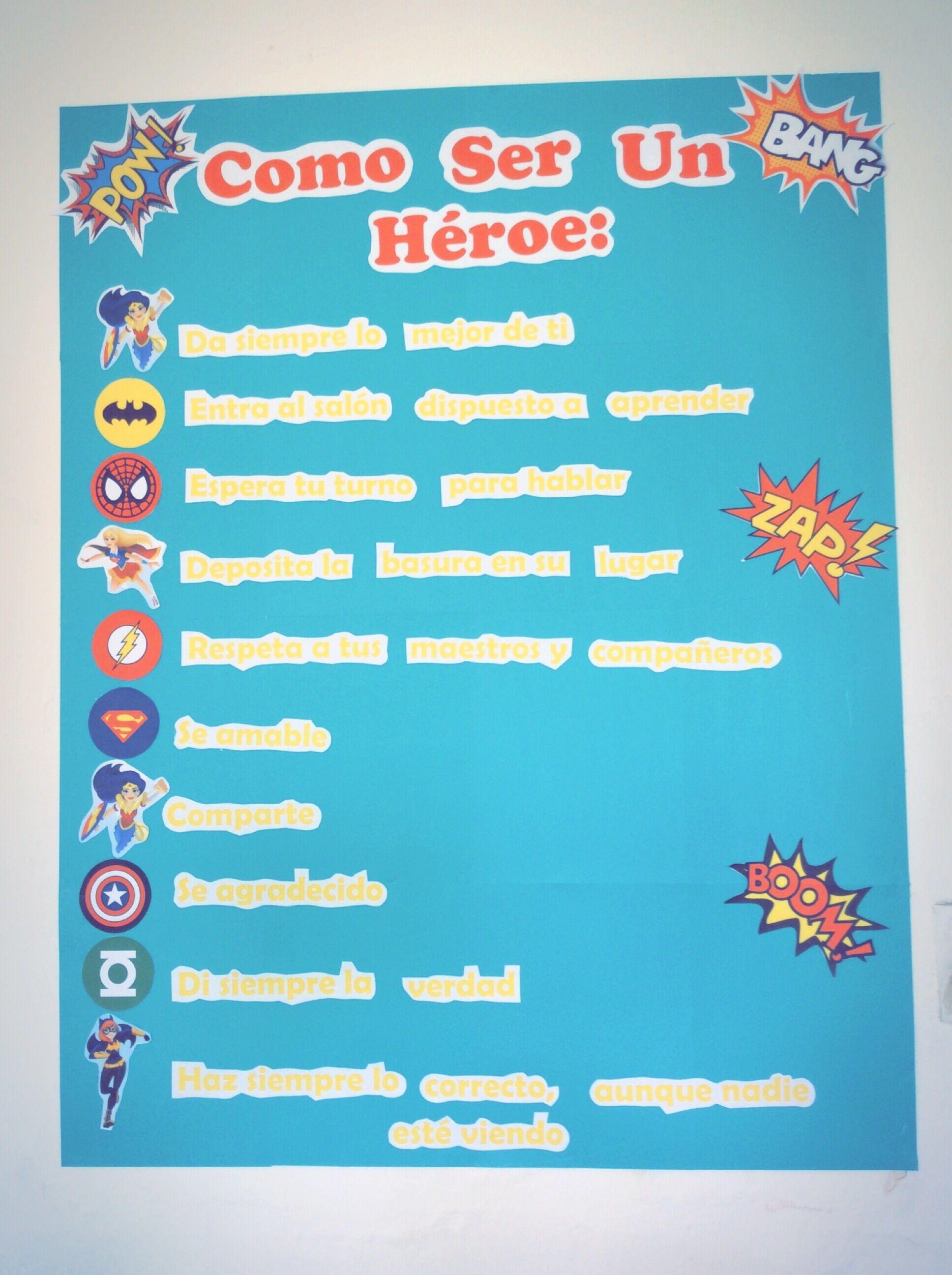 Reglamento del salón/ Classroom rules | Mi salón de clases ...