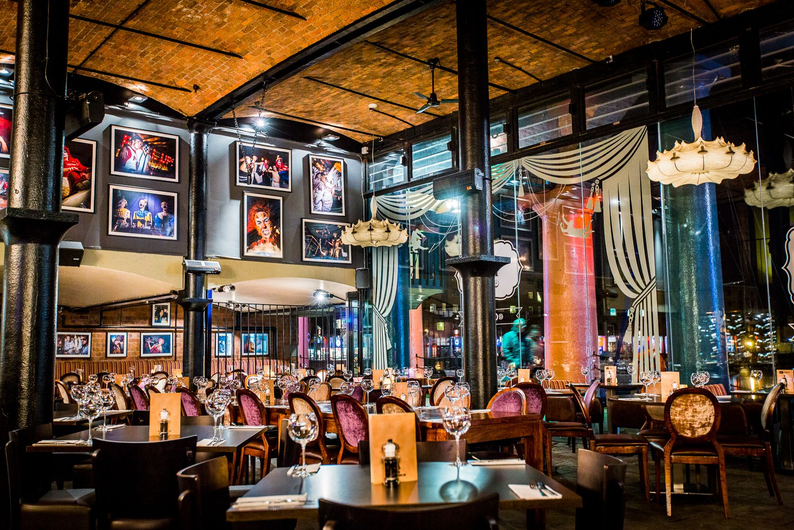 Wow We Just Love The Theatrical Atmosphere At Circo Liverpool
