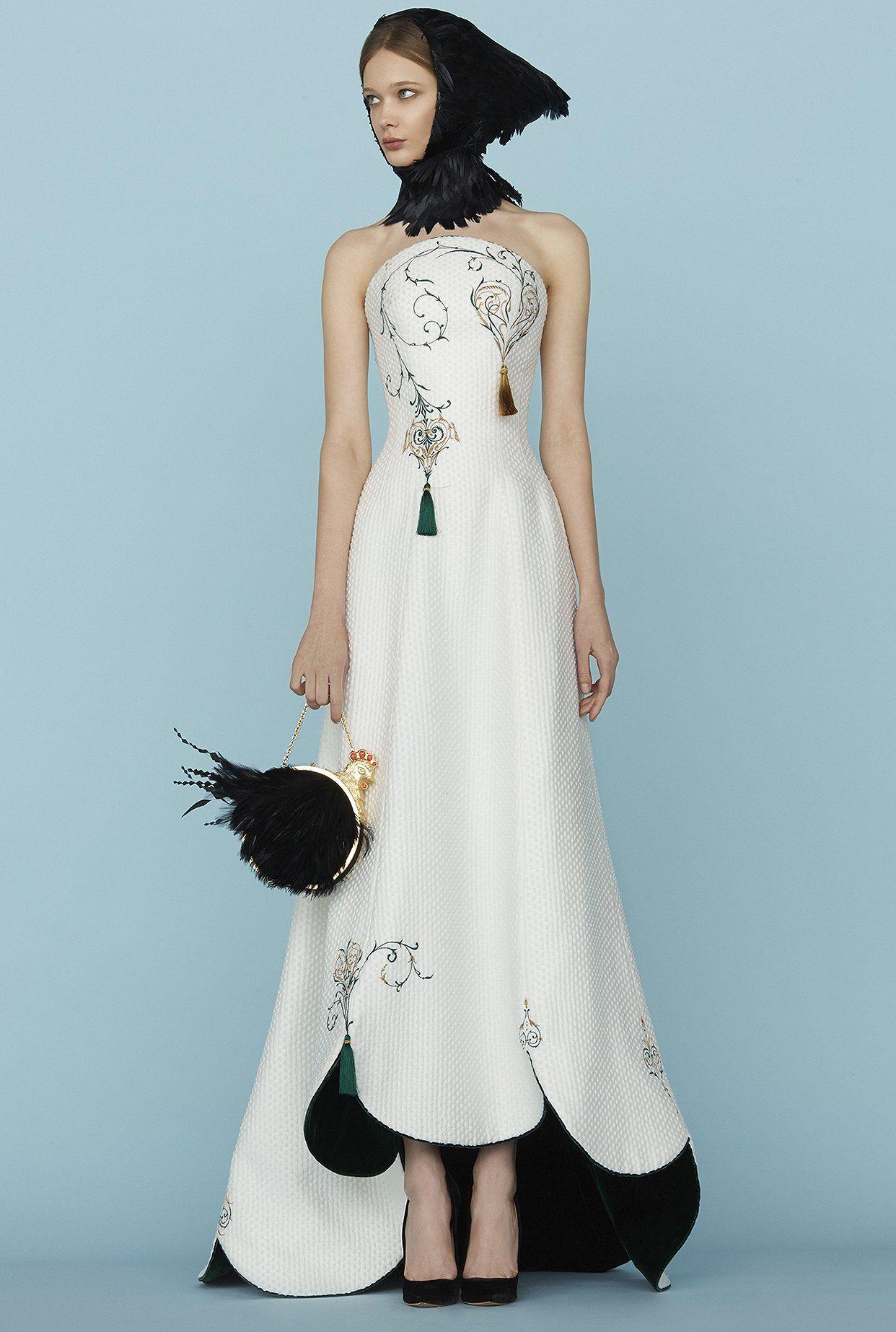 fashiondailymag:Ulyana Sergeenko couture ss15 highlights Paris.(fdmLOVES edit)