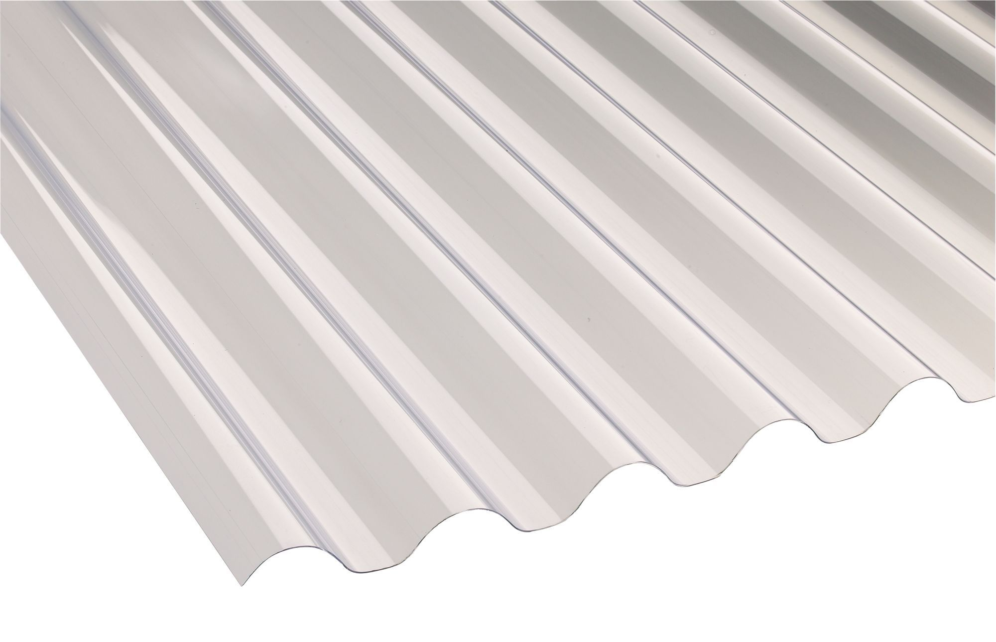 Translucent Pvc Roofing Sheet 1 8m X 660mm Departments Diy At B Q ...