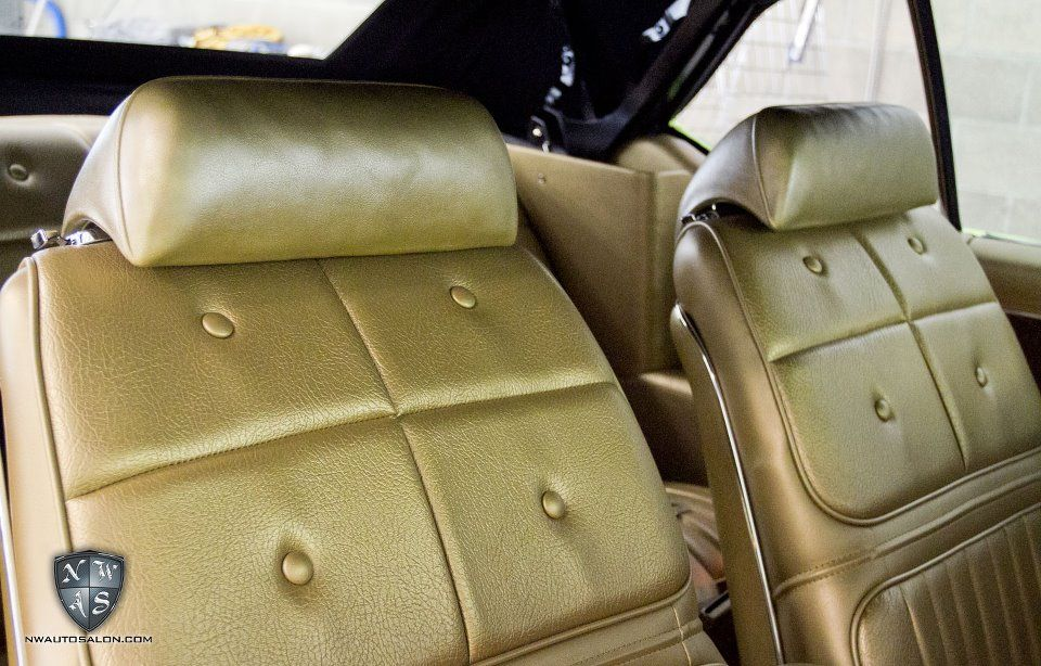 This Oldsmobile 442 with Gold interior is getting a