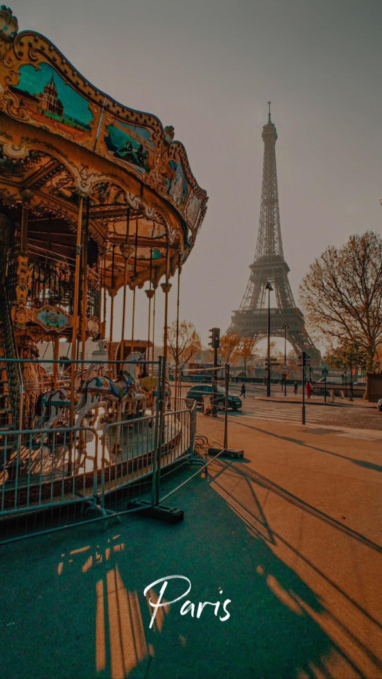 Carrousel por la torre Eiffel