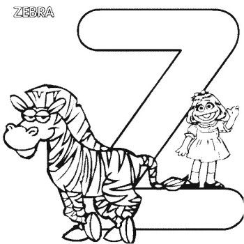 Z For Zebra Zoo Coloring Pages Alphabet Coloring Pages Zebra Coloring Pages Abc Coloring Pages