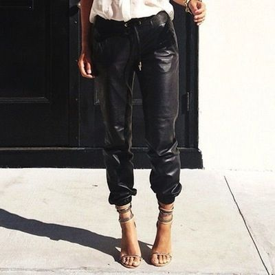 Our Leather Trouser Trend Report!