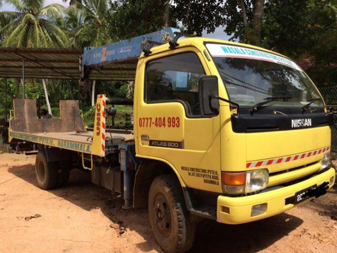 Lorry Nissan Boom Carrier For Sale Sri Lanka Boom Carrier Nissan