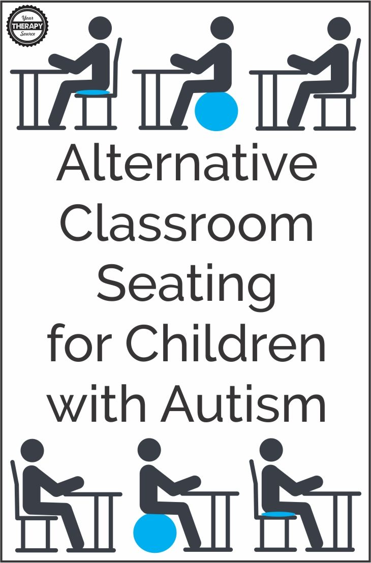 Alternative Classroom Seating for Children with Autism