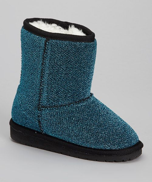These are dope!!! Wish they came I  adult size!!!!!!!!Teal Frost Boot by DAWGS #zulilyfinds