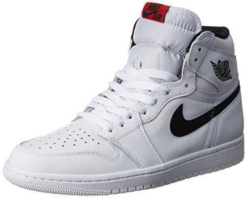 3716fa3c2f60 Nike Jordan Mens Air Jordan 1 Retro High OG White Black White Basketball  Shoe 13 Men US    Click on the image for additional details.