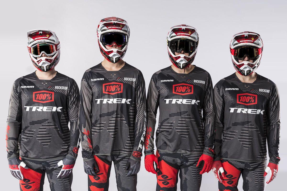Trek Factory Racing Dh Team Will Ride 29 Sessions W Sram