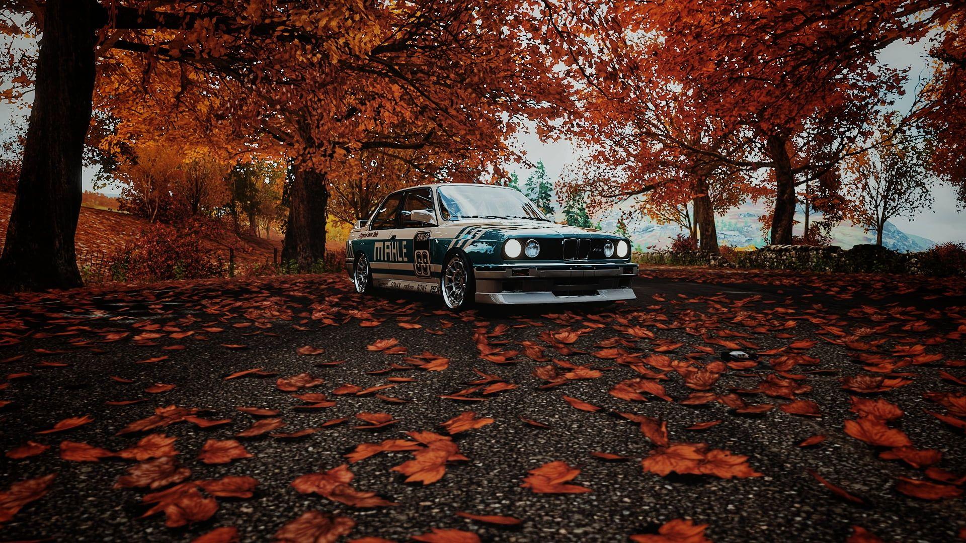 Bmw M3 E30 Bmw M3 E30 Car Forza Horizon 4 Video Games Mahle Jp Performance Fall 1080p Wallpaper Hdwallpaper Desktop In 2021 Forza Horizon 4 Forza Bmw M3