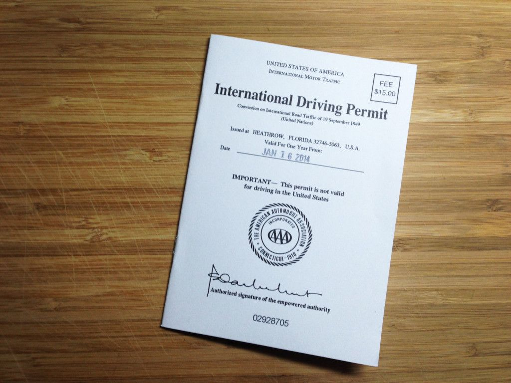 How to Apply for an International Driver's Permit