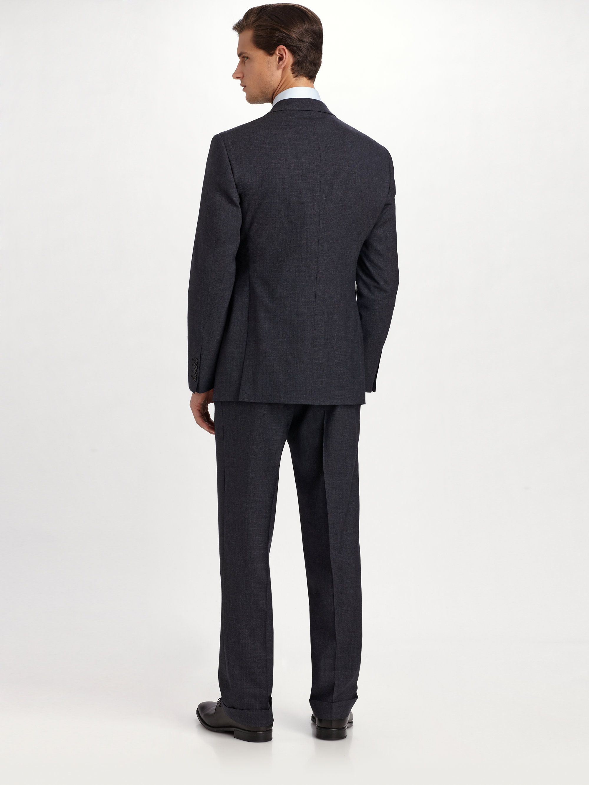 Image result for armani suit back