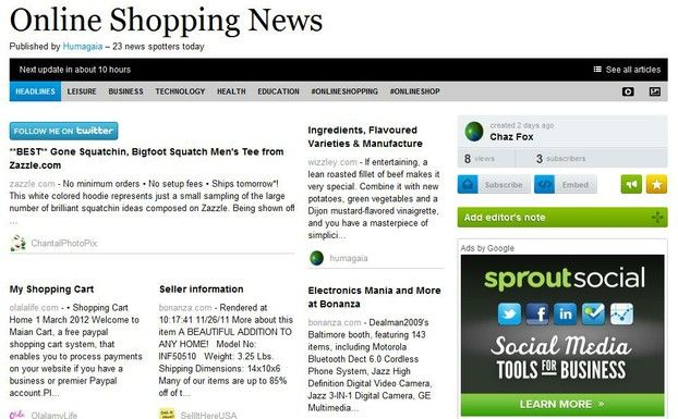 make your own newspaper for free online using paper li newspaper