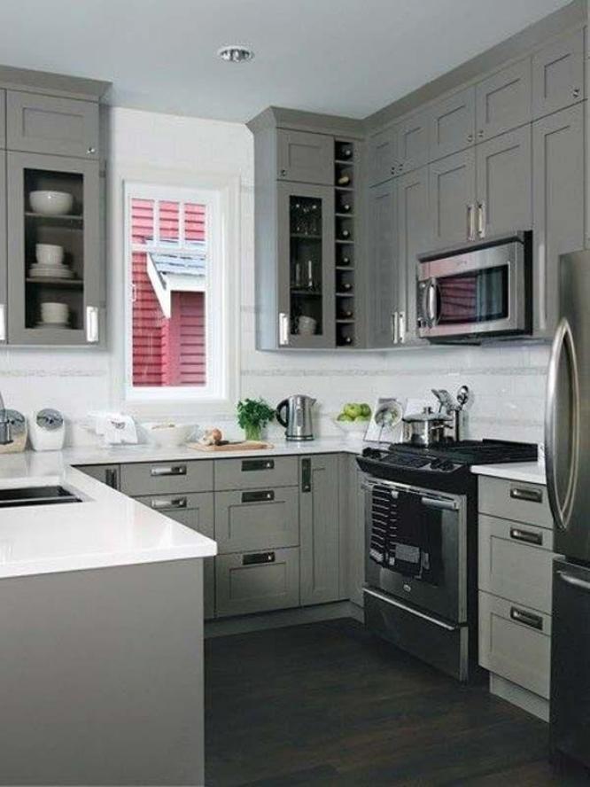 17 Modern U Shaped Kitchen Design Inspirations   Kitchen ...