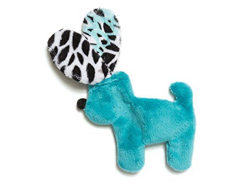 West Paw Dog Toy Floppy Dog Mini For Dogs Color Teal Bloom