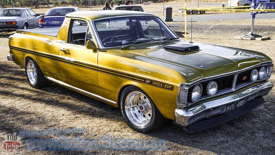 Xy Falcon Ute Vintage Muscle Cars Australian Cars Australian