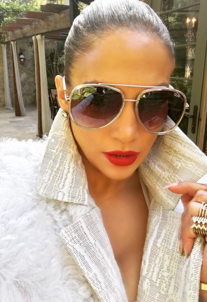a6c13cd3b6 Quay Eyewear NEEDING FAME SUNGLASSES AS SEEN ON JENNIFER LOPEZ ...