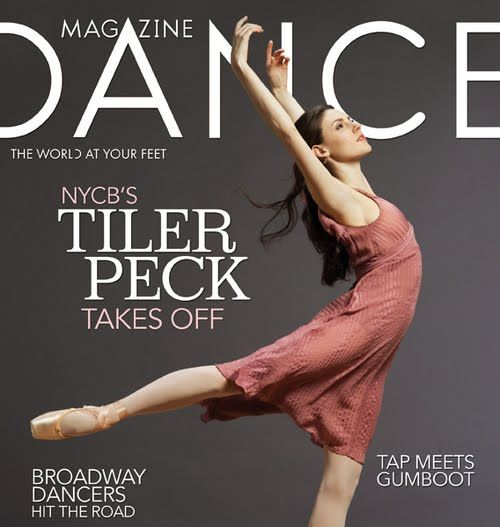 LittleBallerina Adult Ballet: Tiler Peck on Dance Magazine May Cover