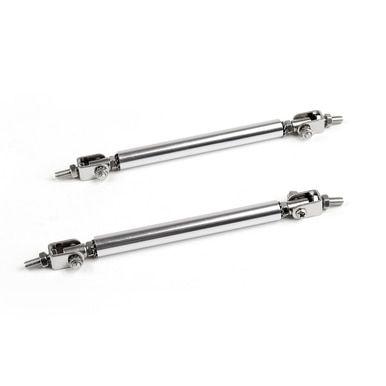 10cm 100mm Adjustable front rear bumper lip splitter strut