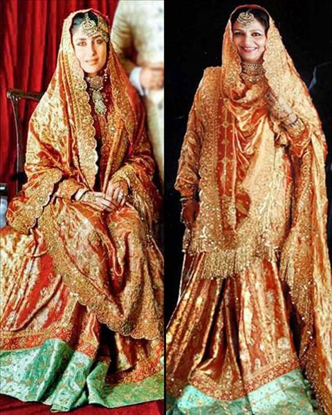 Daughter-in-law Wearing Her Mother-in-laws Wedding Jora