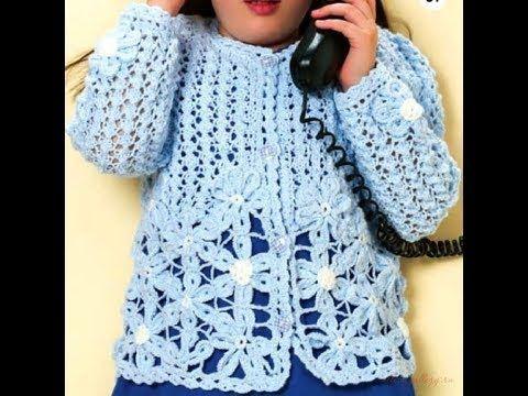 Free English Crochet Patterns| for |crochet cardigan pattern baby ...