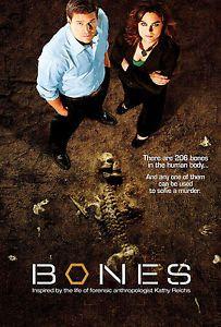 a bones tv series poster 61x91 cm