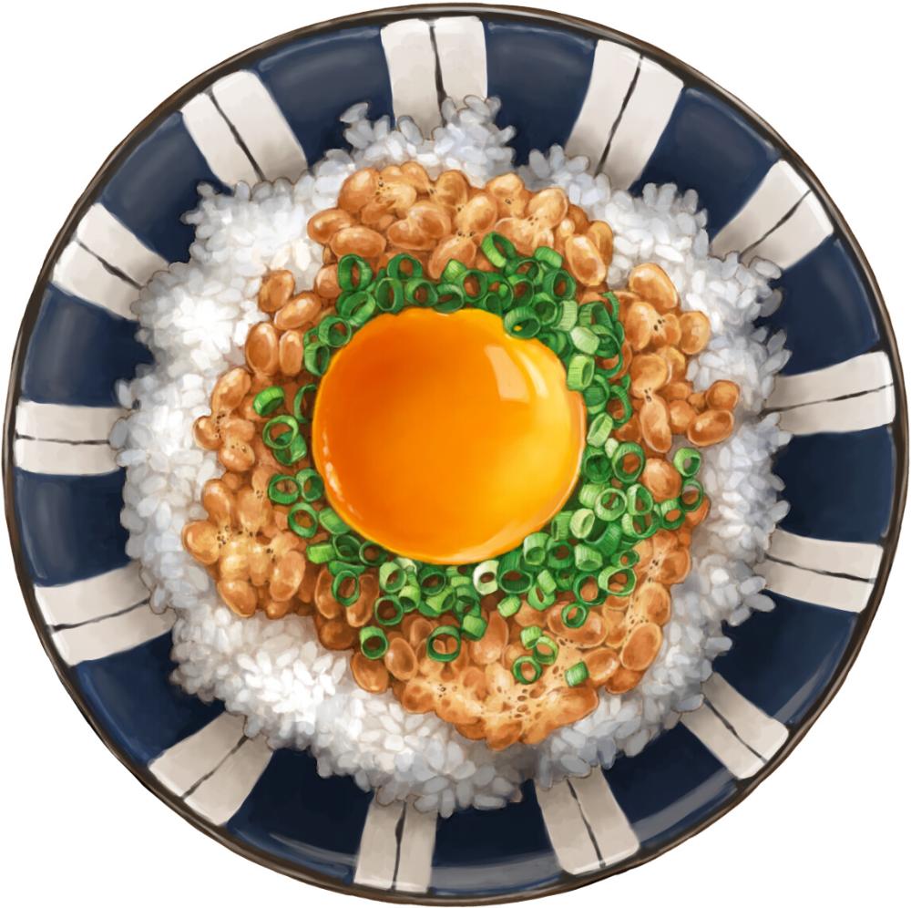 Natto rice, sehyun lee
