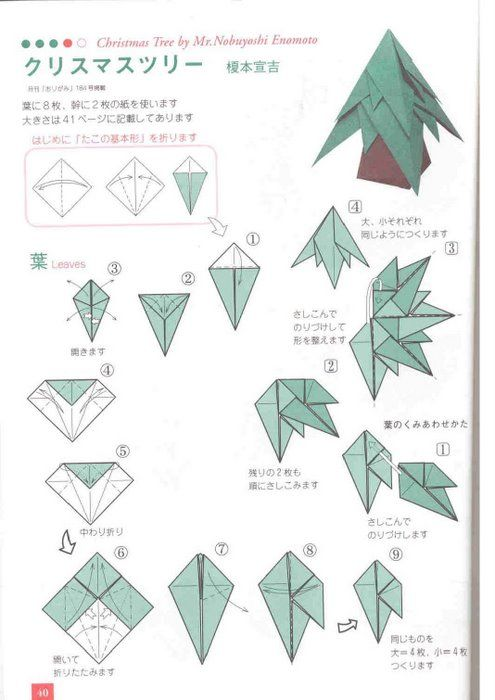 bruno origami origami arvore de natal projects to try pinterest rh pinterest com au Holiday Origami Holiday Origami