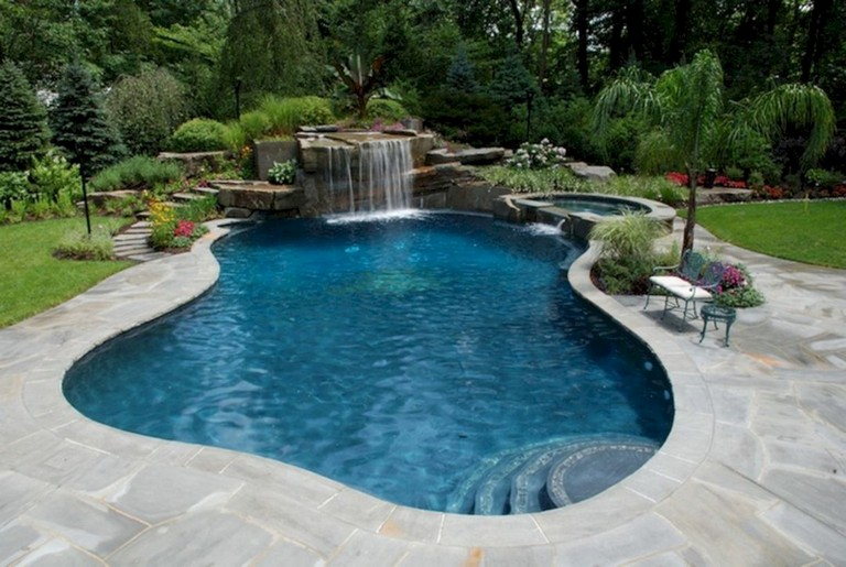 43 Beauty Small Design Ideas Swimming Pool Swimmingpools Swimmingpooldesigns Swimmingpoold Custom Swimming Pool Inground Pool Designs Backyard Pool Designs