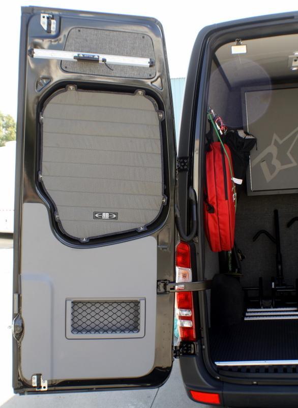2007 2018 Sprinter Van Rear Door Window Shade Kit Sprinter Van Sprinter Sprinter Conversion