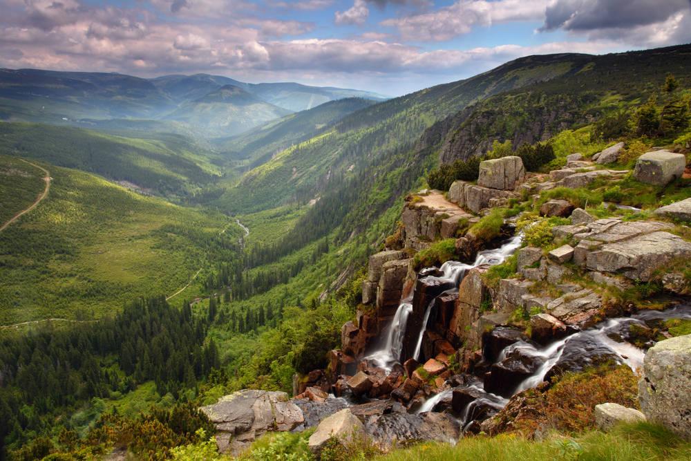 Najväčšie české hory Krkonoše