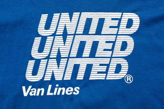 United Van Lines T-Shirt, Peluso Movers, L, Vintage 1990s ...