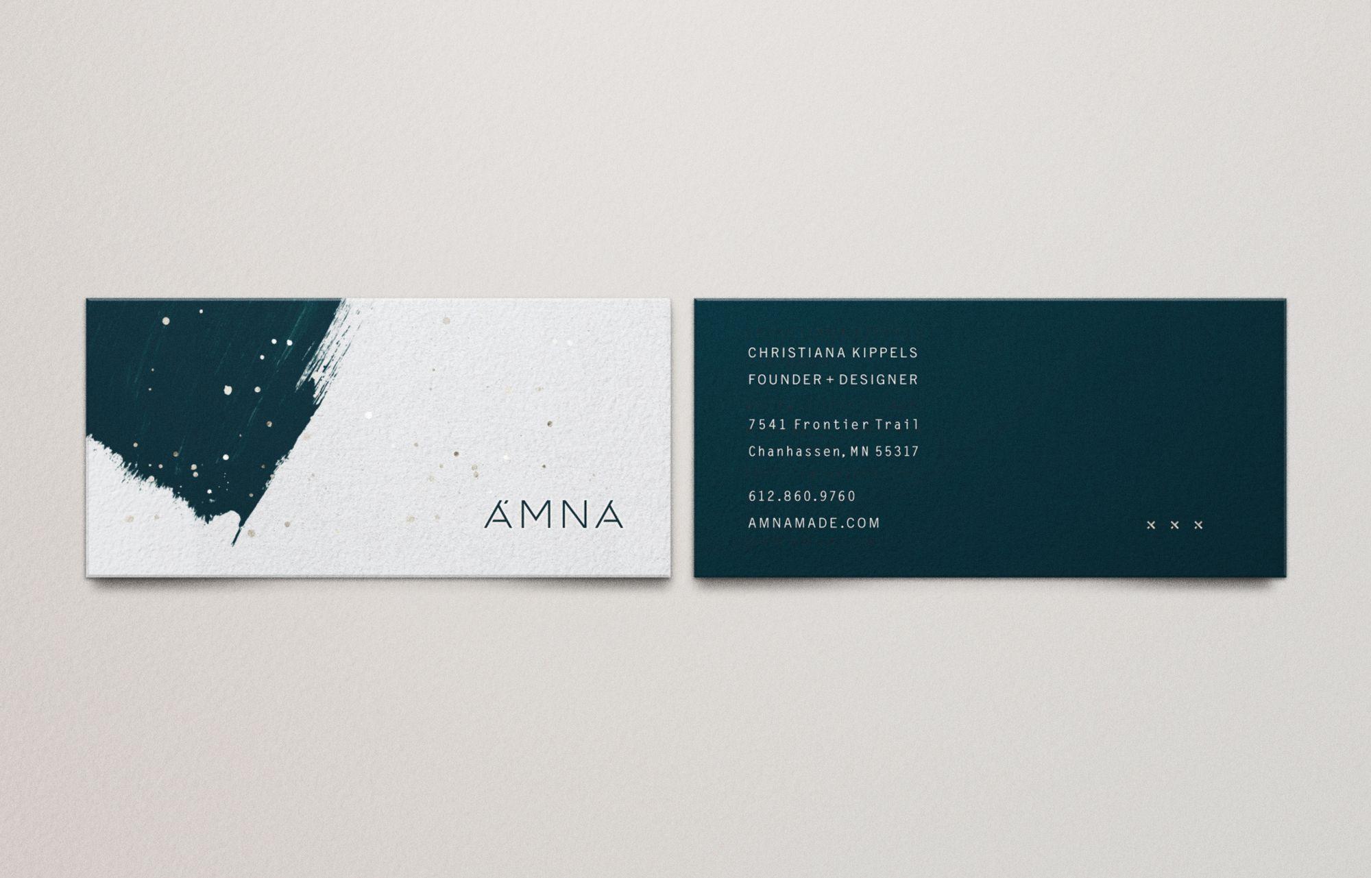 ÄMNA – Studio MPLS | A Branding & Packaging Design Agency ...