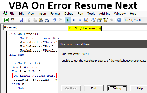 Visual Basic Resume Next In 2020 Basic Resume Resume Basic