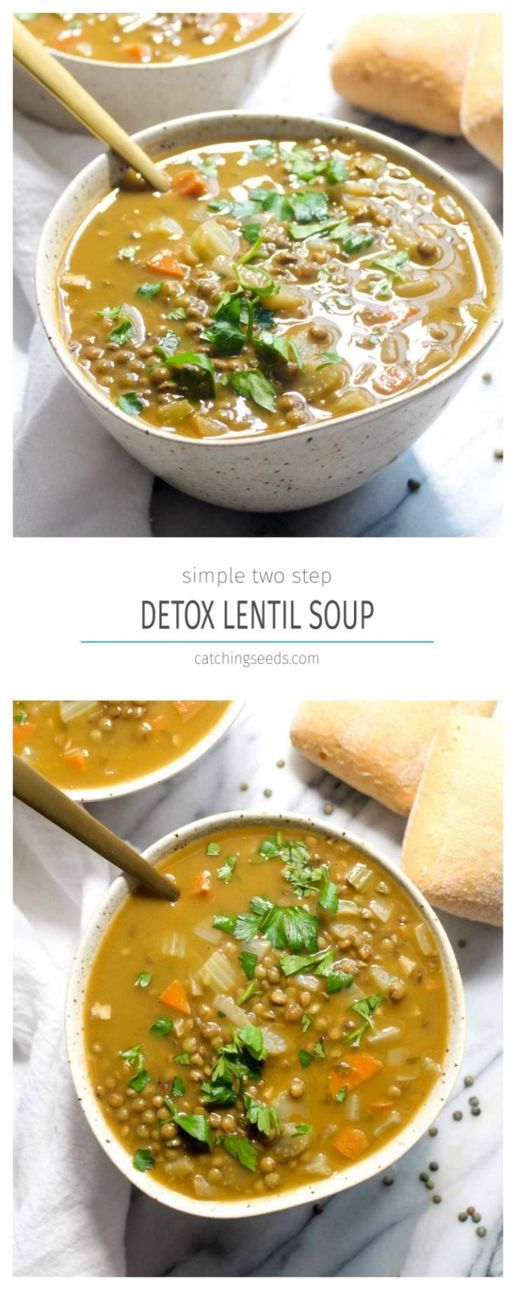 Detox Linsensuppe – Quick and Easy Meals