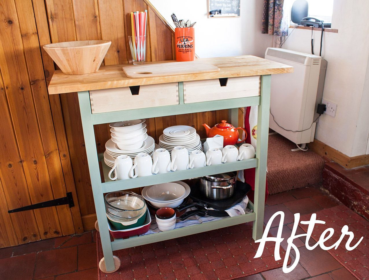Escaping The Grind (and Other Small Feats): Ikea Kitchen Island Facelift