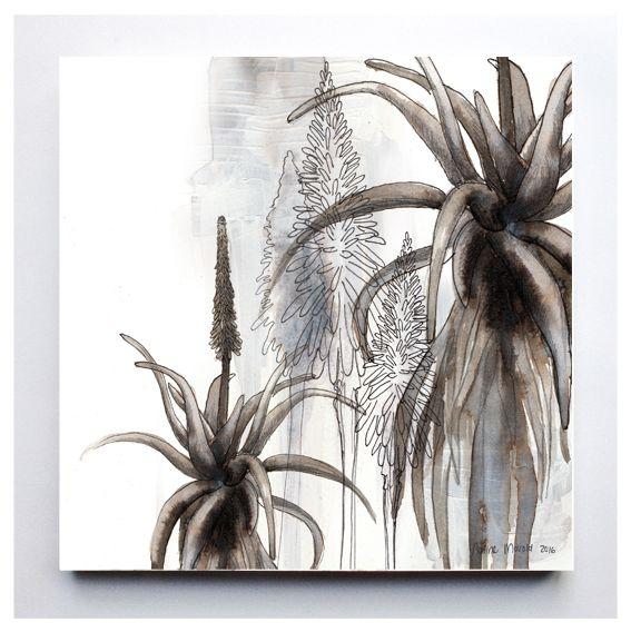 Original artwork digitally printed onto 20 x 20cm mdf supawood.