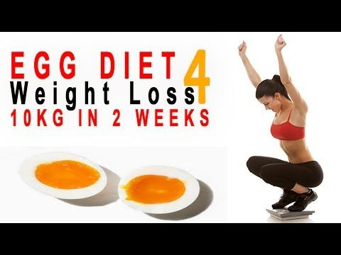 How To Lose Weight Fast 10kg In 10 Days The Boiled Egg Diet Plan