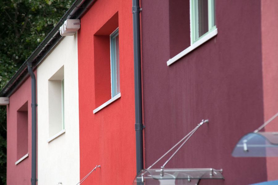 Facade render finish for external wall insulation - alsecco