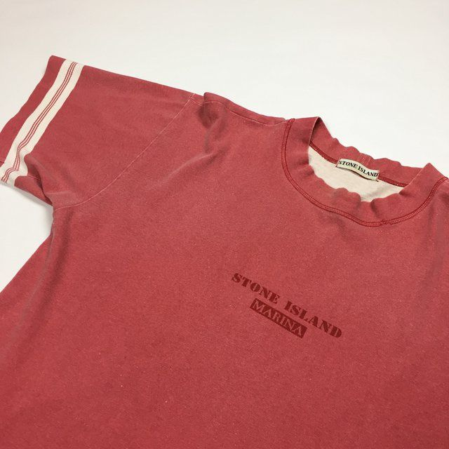 a663abde24cba Faded red and size medium, fits like a large. Good condition considering  age, light general fading and one small hole on the back of the ...