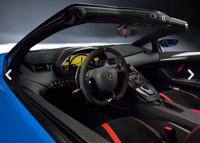 2017 Lamborghini Aventador Lp750 4 Superveloce Interior
