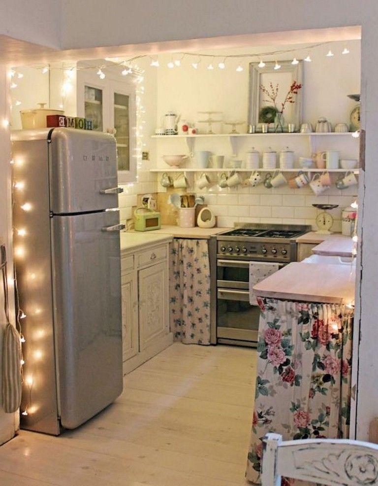 75 Cool College Apartment Decoration Ideas #apartmentkitchen