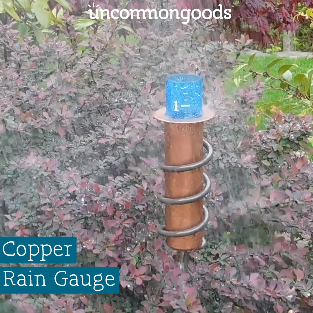 Copper Rain Gauge  #diygarden