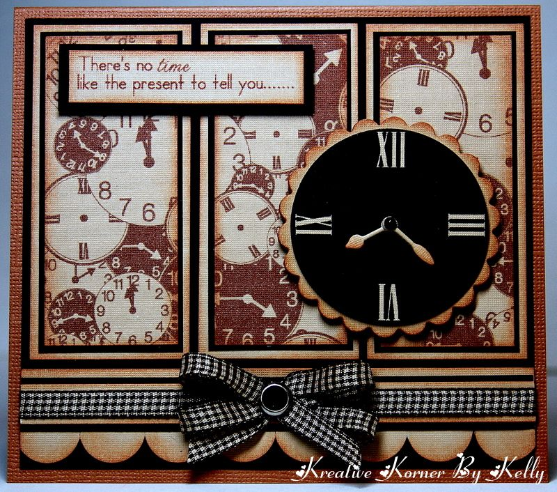 There Is No Time Like The Present To Tell You... - Scrapbook.com