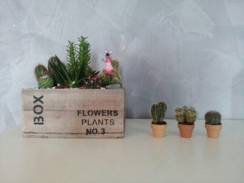 Succulent flowers cactus style!