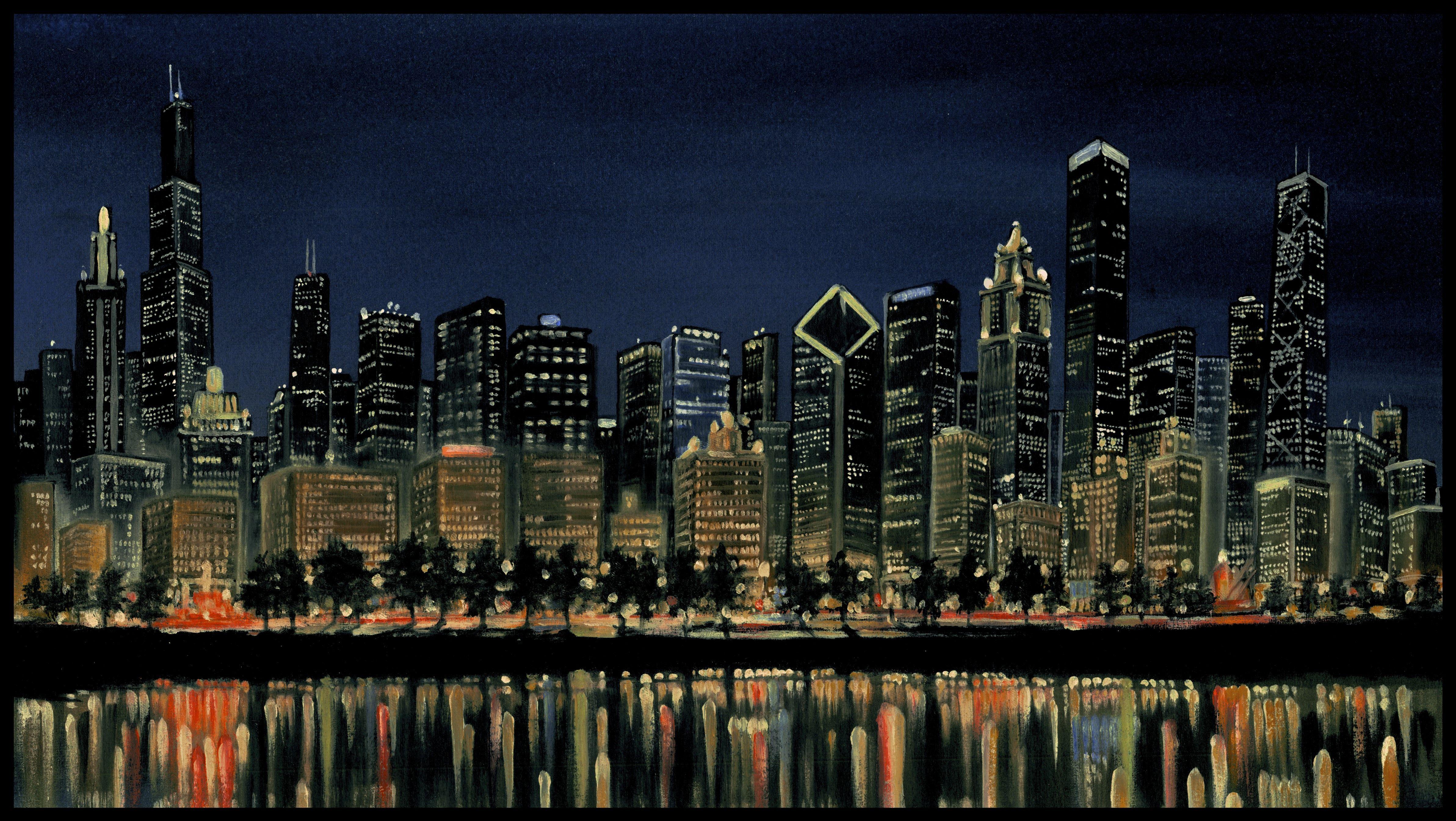 chicago pictures | Chicago Skyline | randsom | Foundmyself ...