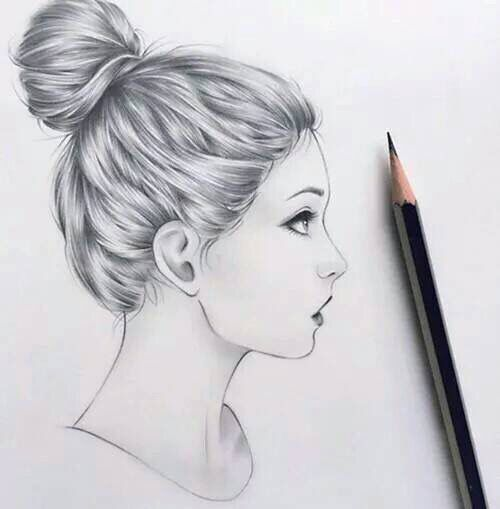 Large Jpg 500 509 Girl Drawing Art Amazing Drawings