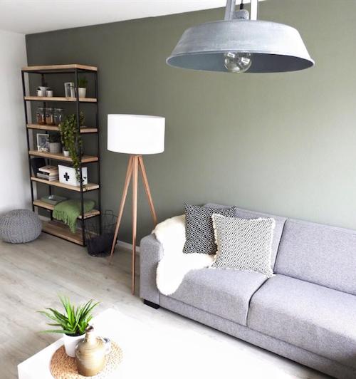 15 tinten groen voor op je muur #woonkamer
