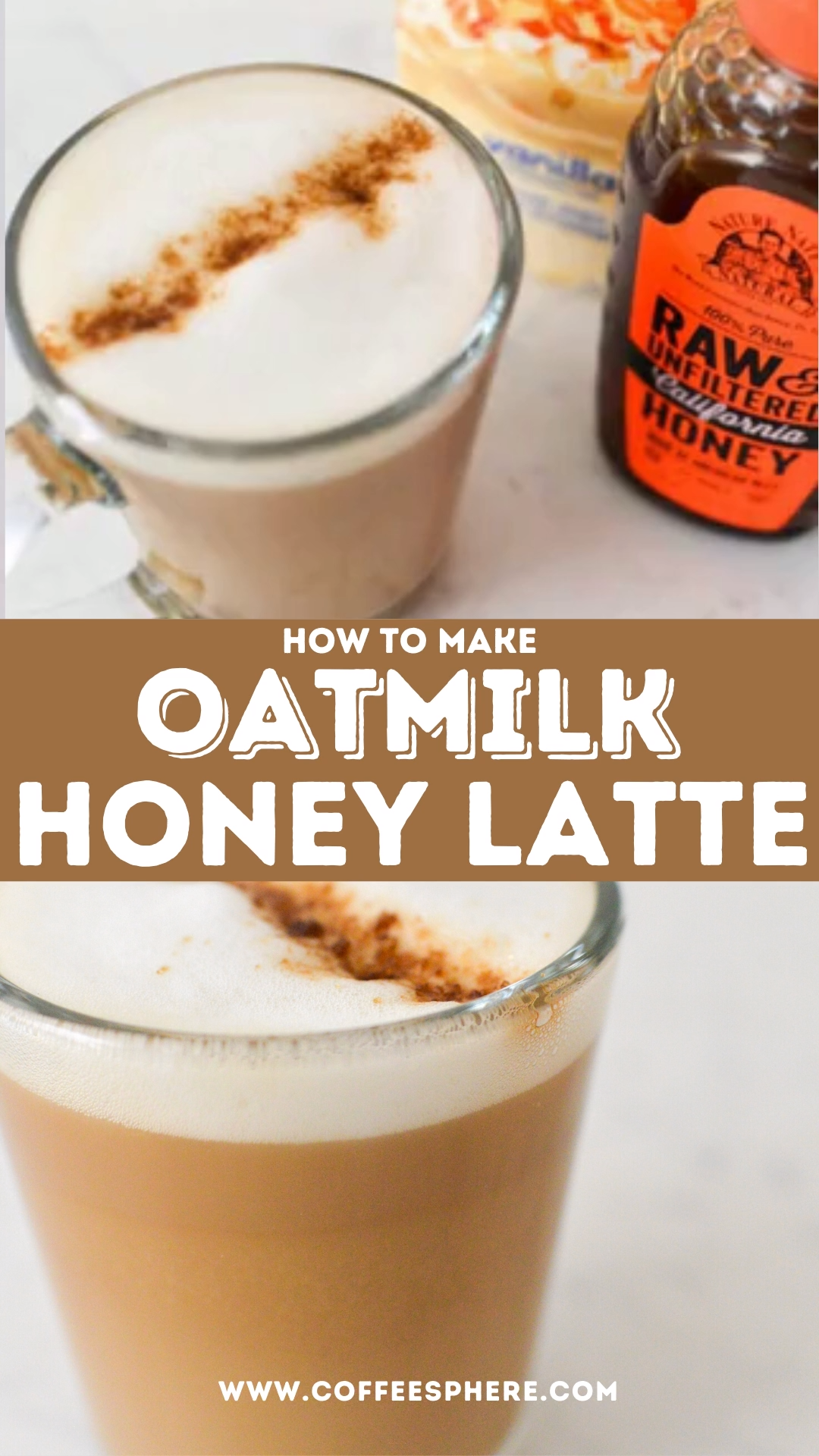 Photo of Oatmilk Honey Latte Recipe